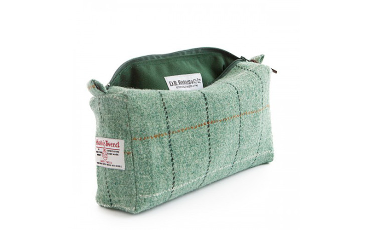 D.R. Harris Tweed Washbag - Town