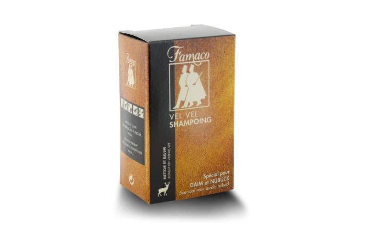 Famaco Shoes Vel Vel soft shampoo bottle with sponge 100 ml
