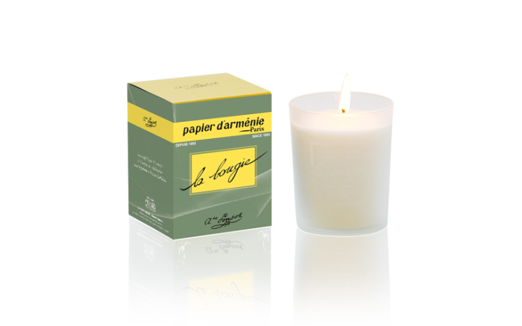 Papier d'Arménie scented candle Tradition