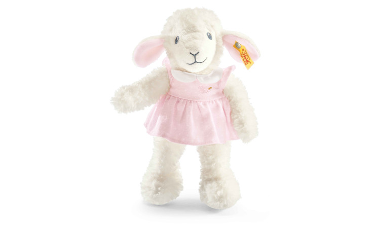 Steiff sweet dreams lamb, pink, 28 cm