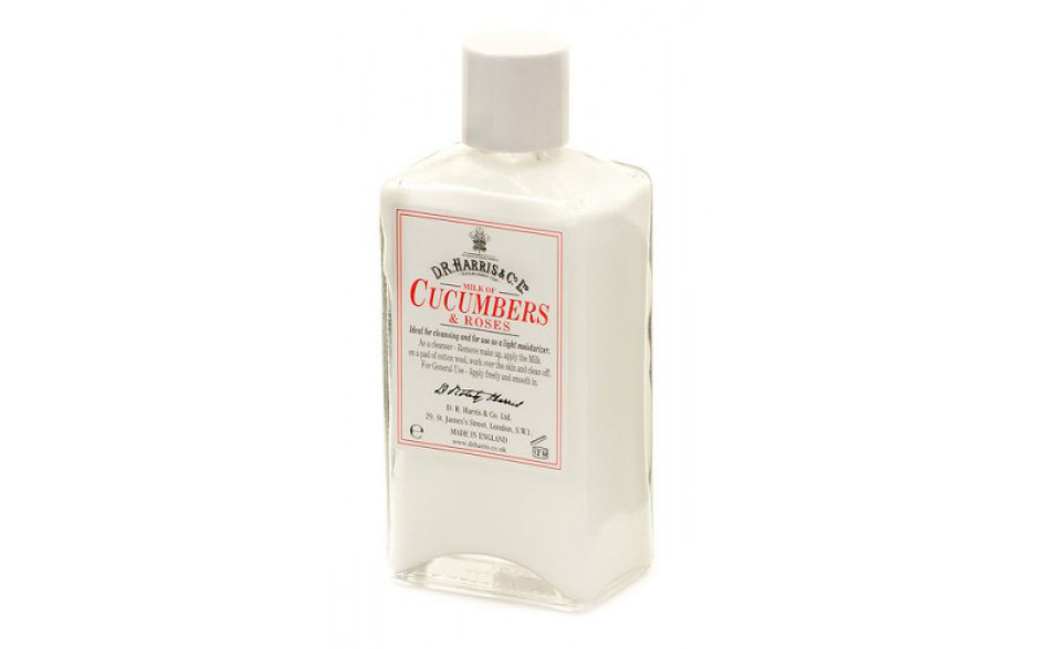D.R. Harris Milk of cucumber and roses 100 ml