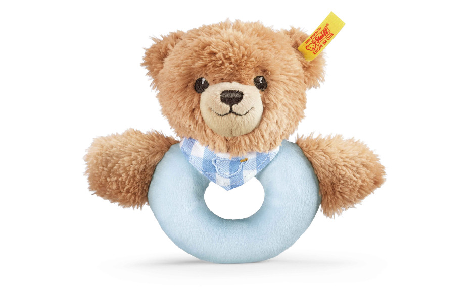 Steiff Sleep well bear grip toy 12 cm