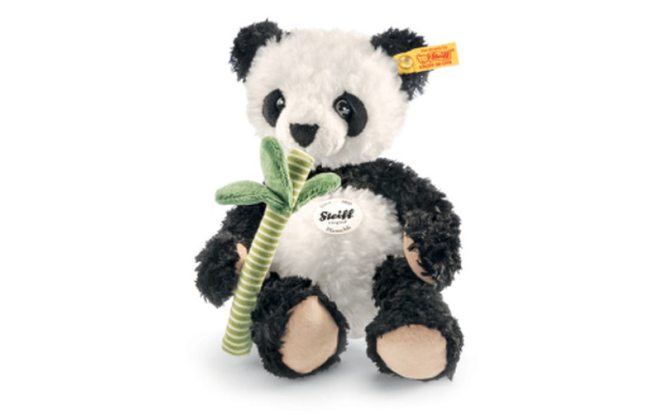 Steiff Manschli panda, white and black 26 cm