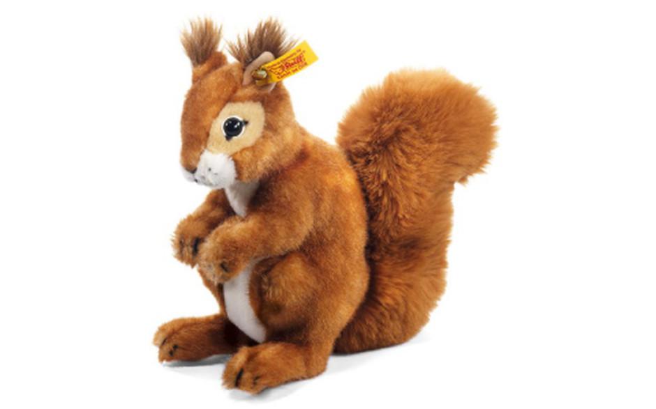 Steiff Niki squirrel, russet 21 cm