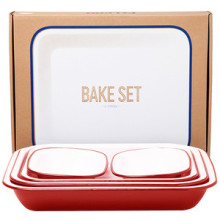 Falcon Bake Set red